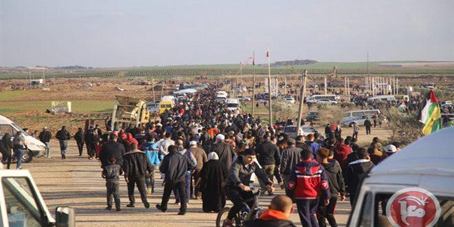 آماده شدن فلسطینیان برای راهپیمایی جمعه «لبیک یا مسجدالاقصی»