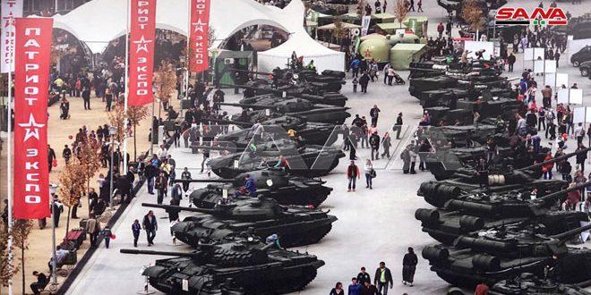 ارتش عربی سوریه در مسابقات بیاتلون تانک در رتبه نهم قرار گرفت