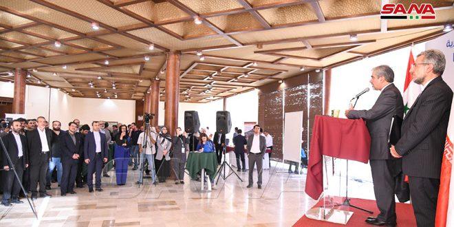 برگزاری همايش مقدماتی همکاری بین شرکت های ایرانی و سوریه در حاشیه نمایشگاه باسازی سوریه