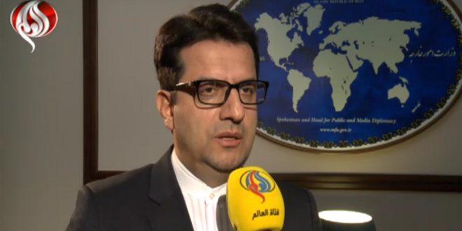 ایران : همه نیروهای خارجی که بدون دعوت دولت رسمی و مستقر سوریه در منطقه حاضر شدند، باید از منطقه خارج شوند