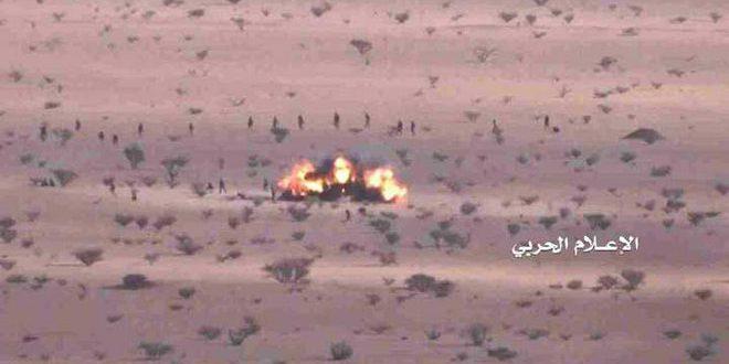 یمن: هلاکت تعدادی از مزدوران متجاوز سعودی در حجه و جوف