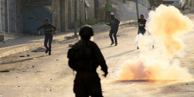 جراحت 6 نفر فلسطینی در یورش نظامیان اشغالگر به شهرک عیزریه