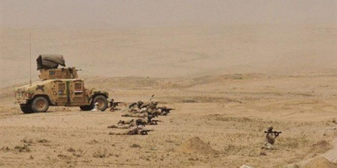 عراق: انهدام چهار مخفیگاه مربوط به تروریست ها در انبار