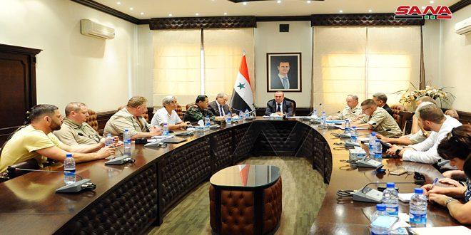 کمیسیون های هماهنگی سوریه و روسیه: تکمیل اقدامات لازم برای بازگشت سوری های آواره باقیمانده در آردوگاه رکبان
