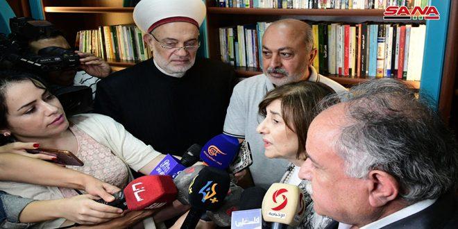 مؤسسه بین المللی قدس / سوریه / کتابخانه مقدسی را افتتاح کرد