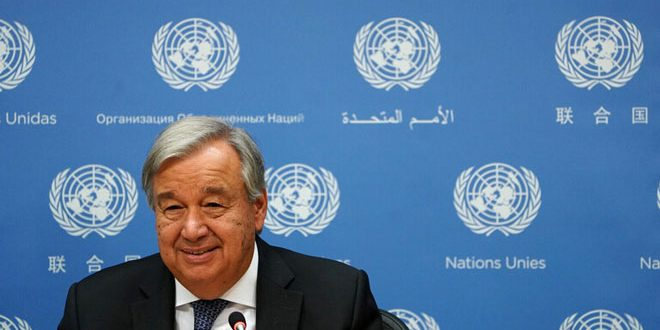 گوتیرش تشکیلکمیته بررسی قانون اساسی سوریه اعلام می کند