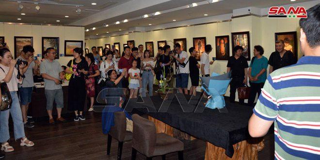 میزبانی نمایشگاهی از هنرمند هنرهای زیبای سوری توسط یک موزه چینی