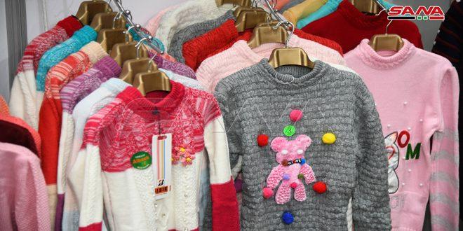 پوشاک آماده سوریه… گرینه های گسترده ای برای مصرف کنندگان واز وارد کردن لباس جلوگیری من کند
