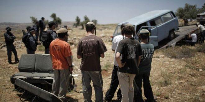 زخمی شدن یک فلسطینی توسط شهرک نشین صهیونیستی شرق رام الله