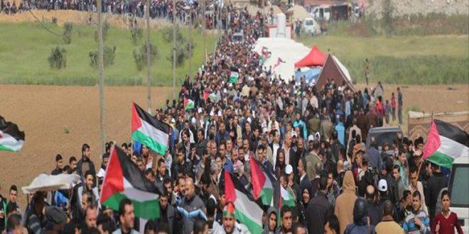 آمادگی مردم غزه برای حضور در راهپیمایی «نه به عادی سازی روابط»