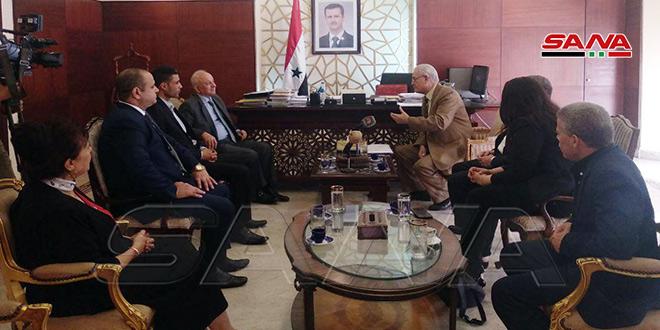 اعلام مجدد همبستگی حزب تجمع مصری با سوریه در مقابل تهاجم ترکیه