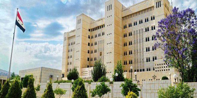 سوریه حمایت واشنگتن از شهرکسازی اسرائیل را محکوم کرد