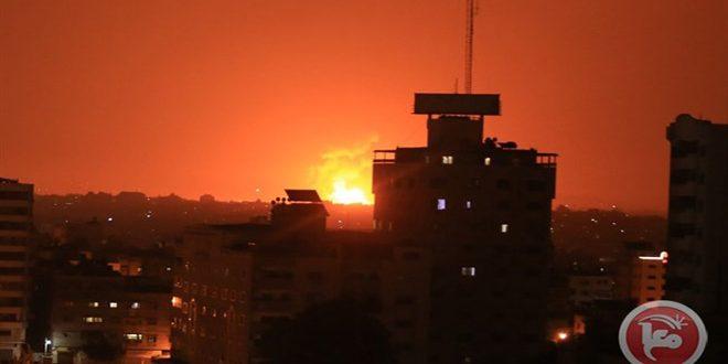 حمله مجدد جنگنده های رژیم صهیونیستی به نوار غزه