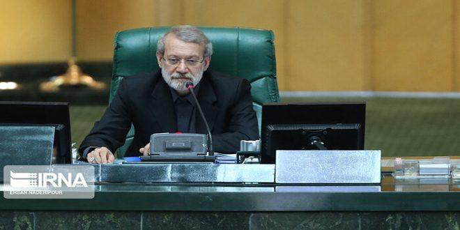 لاریجانی : تصریحات پمپئو خوبی رفتار دروغین و ریاکارانه خود را به ملت ایران نشان داد