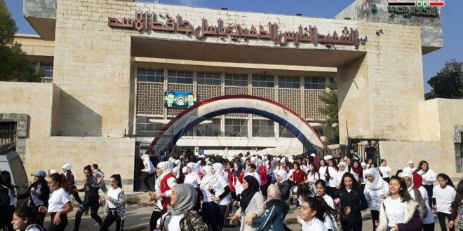 """آغاز """"اولین ماراتن دمشق """"برای حمایت از افراد دارای معلولیت فکری"""
