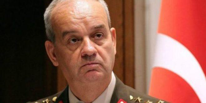 رئیس سابق ستاد مشترک ارتش ترکیه حفاظت از یکپارچگی وحاکمیت سوریه یک امر حیاتی برای آمن وثبات در ترکیه دانست