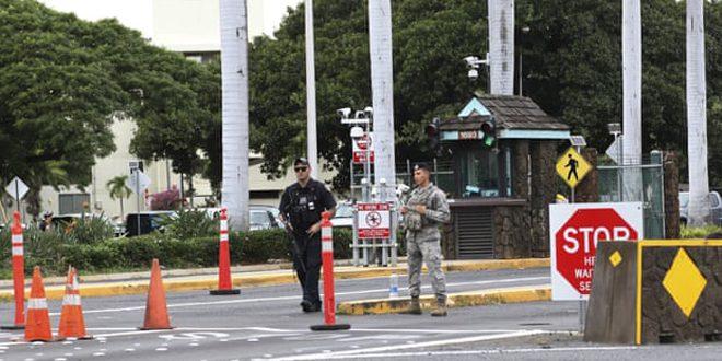 تیراندازی در پایگاه نظامی آمریکا دو کشته برجای گذاشت