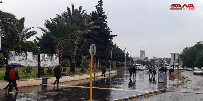 بارش باران در اغلب مناطق کشور