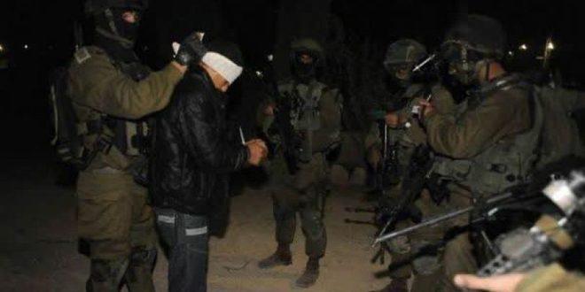 دستگیری 3 فلسطینی در کرانه باختری