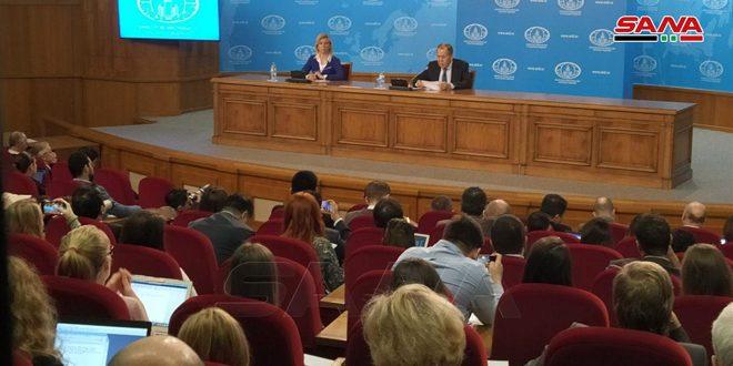 لاوروف : مبارزه با تروریسم در سوریه و ایجاد راه حل بحران آناز اولویت های روسیه است