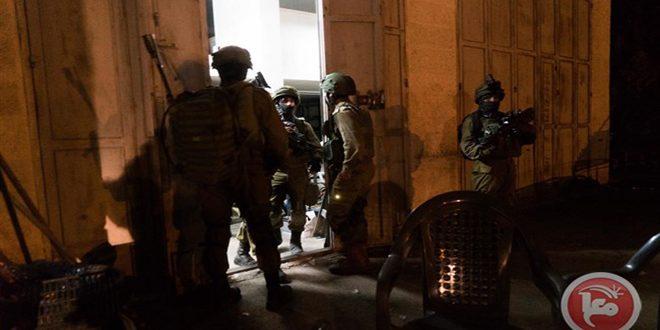 دستگیری 5 فلسطینی  در کرانه باختری
