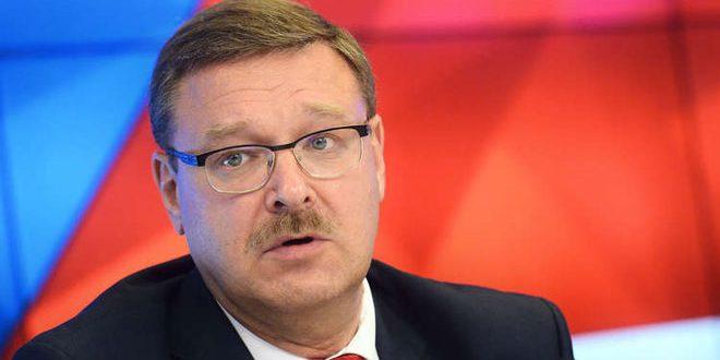 کوساچوف: واشنگتن فقط کسانی را که با تروریسم در سوریه می جنگند ، مجازات می کند