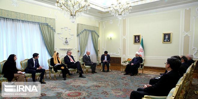 روحانی: حضور آمریکا در منطقه سبب اصلی بی ثباتی امنیتی است