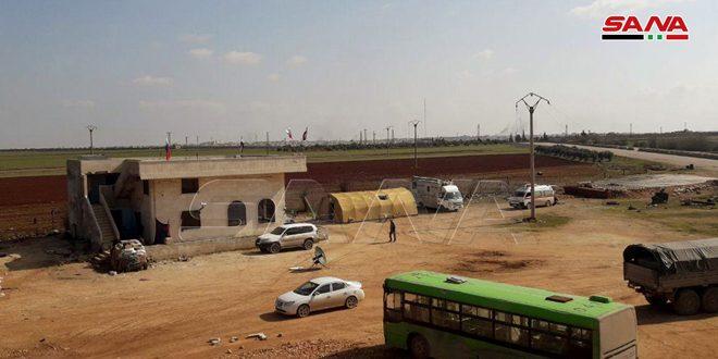 /تصاویر/…بازگشایی گذرگاه در مجیزر واقع غرب سراقب برای اطمینان از خروج غیرنظامیان از مناطق انتشار تروریست ها در ادلب