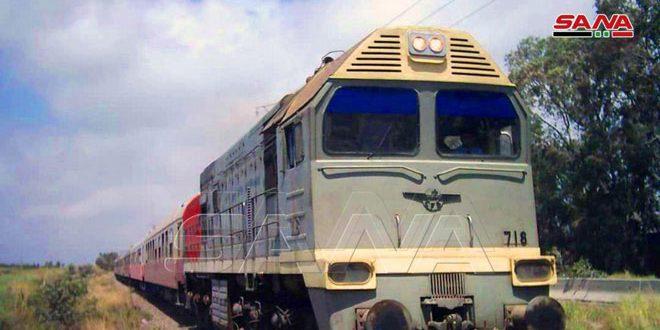 از سرگیری تردد قطارهای مسافری میان طرطوس و لاذقيه