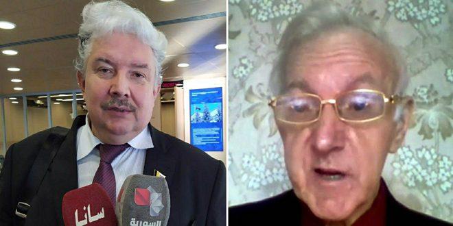 بابورین و دلوگوف: تجدید اقدامات اجباری علیه سوریه نشان دهنده وابستگی اروپا به ایالات متحده است