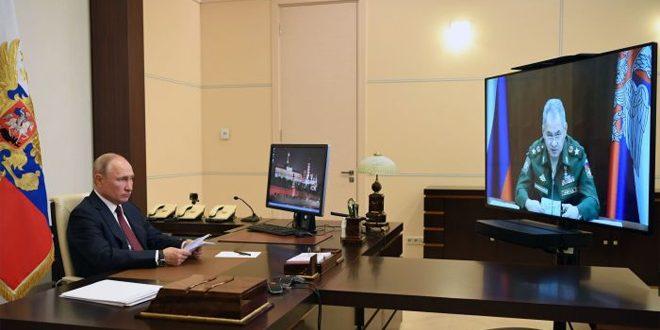 پسکوف: جلسات رئیس جمهور پوتین از راه دور ادامه خواهد یافت