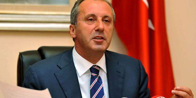یک سیاستمدار ترکی اردغان را به عنوان مفسد توصیف کرد که کل ترکیه را به سوی نابودی سوق داد