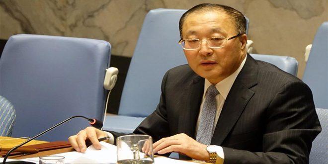 چین مجددا خواستار رفع اقدامات اقتصادی علیه سوریه شد