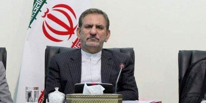 جهانگیری: آمریکا به دنبال از پادرآوردن اقتصاد ایران است