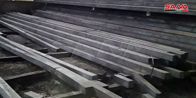 فروش شرکت محصولات آهن و فولاد حماه از مرز 12 میلیارد لیر سوریه عبور کرد