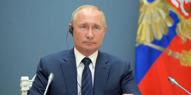 تماس تلفنی پوتین با همتای الجزایری درباره بازار نفت و حل بحران در لیبی
