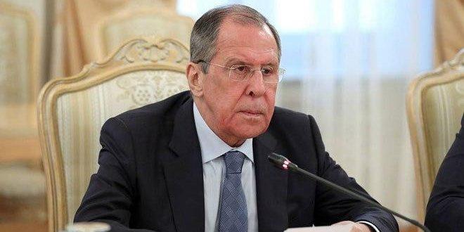 تاکید لاوروف بر ضرورت حل بحران سوریه از طریق سیاسی و گفتگوی سوری-سوری