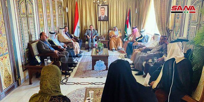 اعلام همبستگی عشایر اردن با سوریه