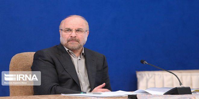 تاکید قالیباف بر تداوم حمایت ایران از دولت و ملت سوریه