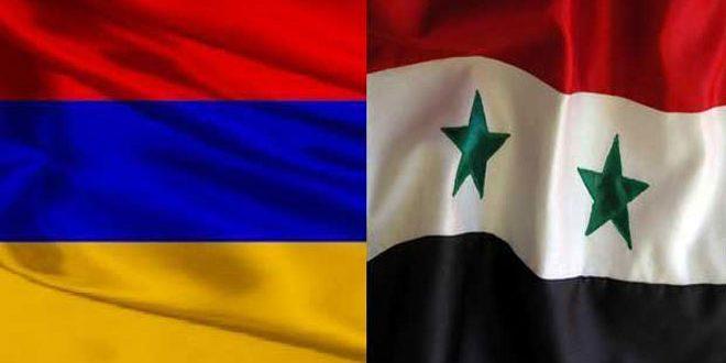 ارمنستان در روز ملی خود … دوستی تاریخی با سوریه و مواضع یکسان در باره مسائل مختلف
