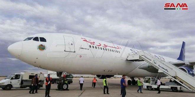 وزارت حمل و نقل کشورمان اعلام کرد: یک پرواز اضافی از فرودگاه بین المللی دمشق به خرطوم برگذار شده است
