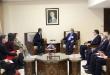 المقداد در دیدار با داوودی: تلاش مضاعف برای مقابله با چالش های کرونا و محاصره اقتصادی غرب بر سوریه
