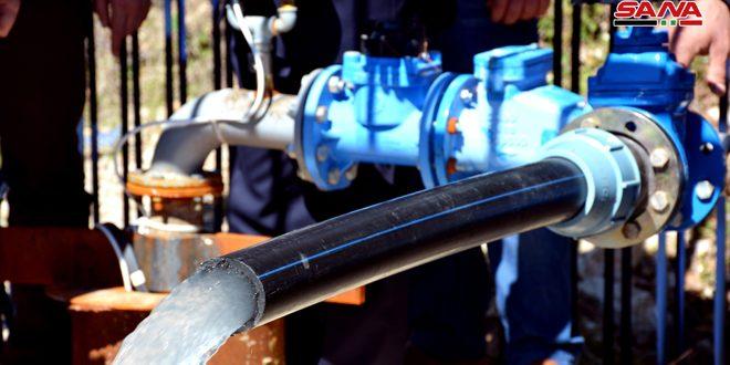 اجرای چند پروژه آب با هزینه ای حدود 1.5 میلیارد لیر سوریه در استان لاذقیه