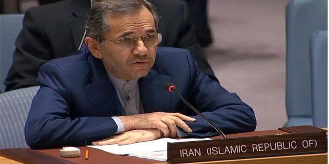 نماینده دائم ایران در سازمان ملل متحد: نشانههای جدی درباره دست داشتن رژیم صهیونیستی در ترور فخریزاده وجود دارد