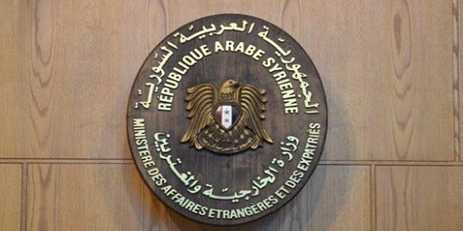 وزارت امور خارجه: سوریه اقدامات تجاوزکارانه نیروهای اشغالگر آمریکا در منطقه جزیره را مورد محکومیت قرار می دهد