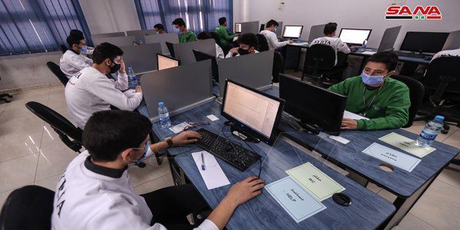 رقابت 367 دانش آموز در دور دوم مسابقات مقدماتی المپیاد علمی سوریه