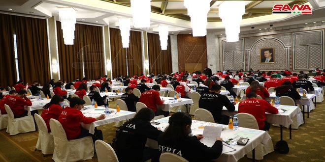 شرکت 367 دانشجو در دور اول مسابقات مقدماتی المپیاد علمی سوریه