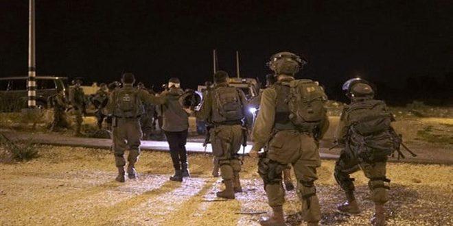 بازداشت 16 فلسطینی در کرانه باختری