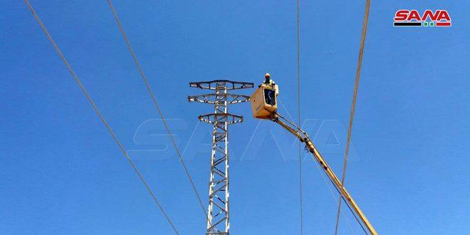 قطع برق استان قنیطره به دلیل نقص فنی در شبکه 66 کیلو ولت