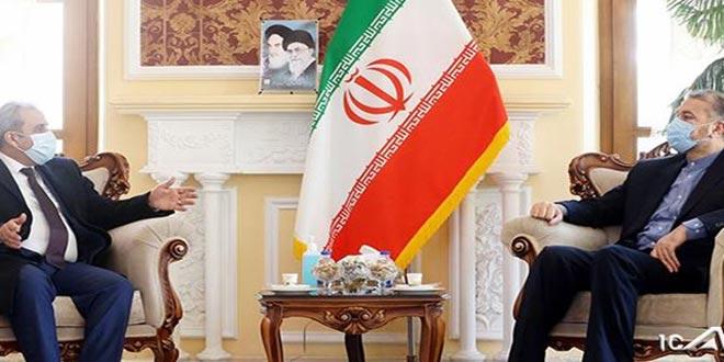 گفتگوهای سوریه و ایران در مورد توسعه همکاری در زمینه های علمی و تحقیقاتى